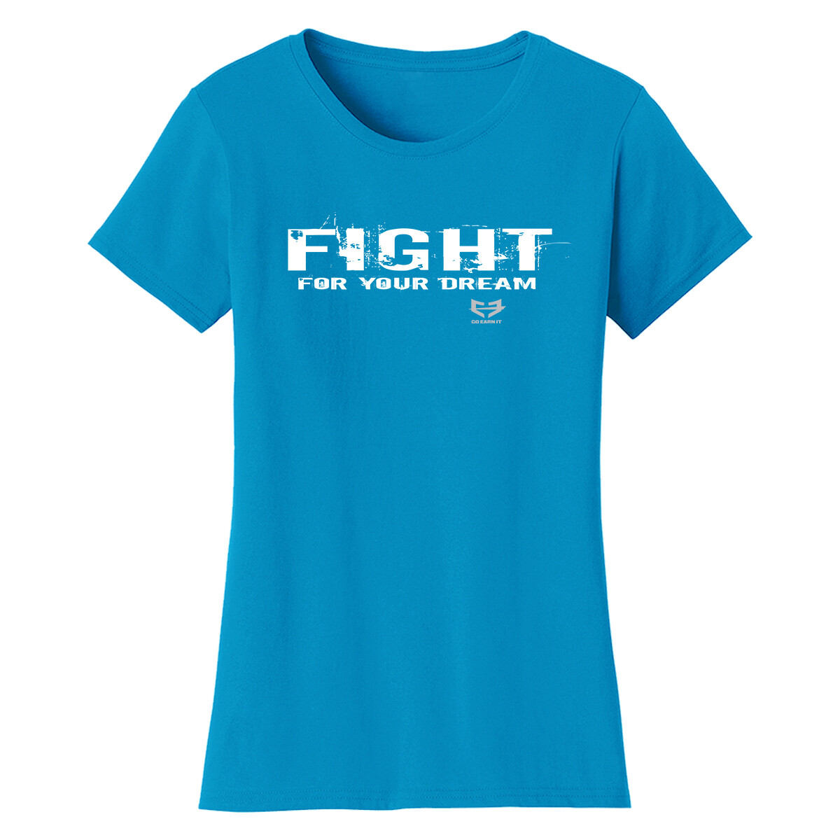 FIGHT FOR YOUR DREAM GRAPHIC TEE (W)