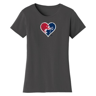 HEART 5 POINT GRAPHIC TEE (W)