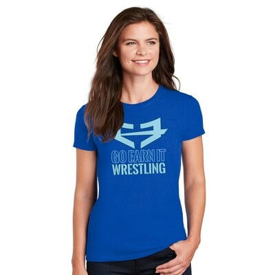 GEI WRESTLING GRAPHIC TEE (W)