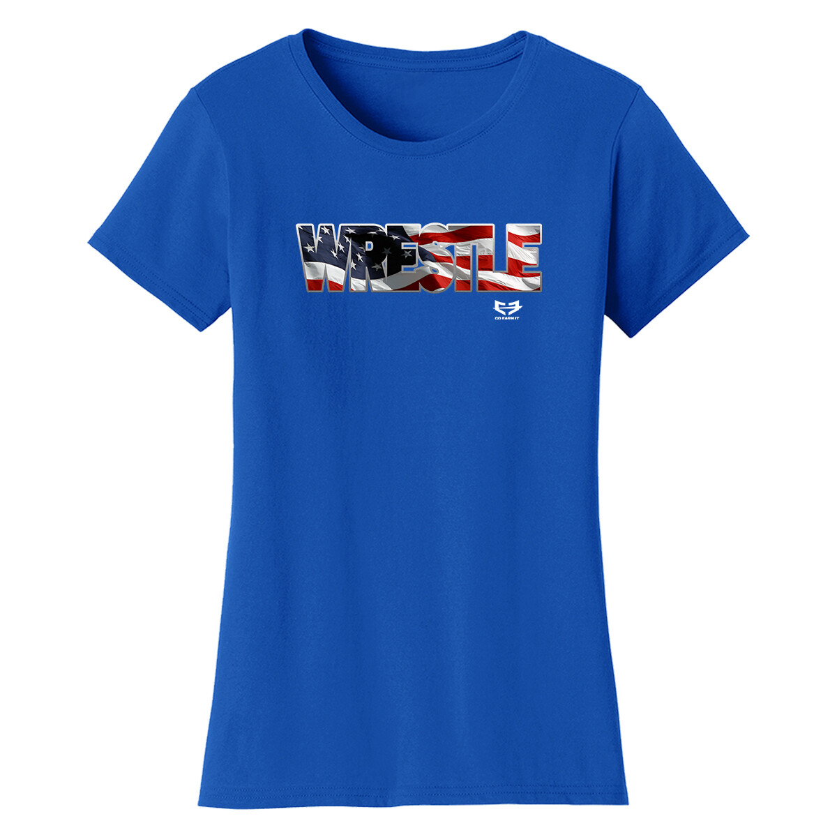 WRESTLE AMERICAN GRAPHIC TEE (W)
