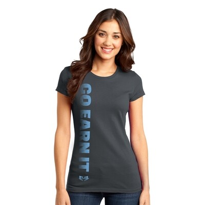 GO VERTICAL GRAPHIC TEE (W)