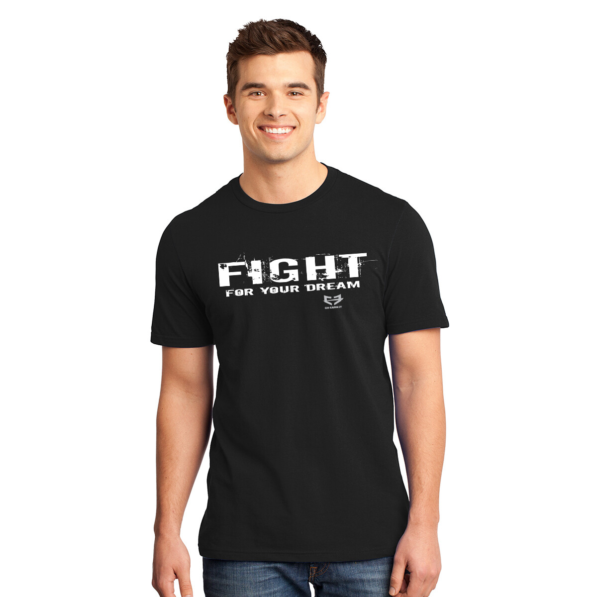 FIGHT FOR YOUR DREAM GRAPHIC TEE