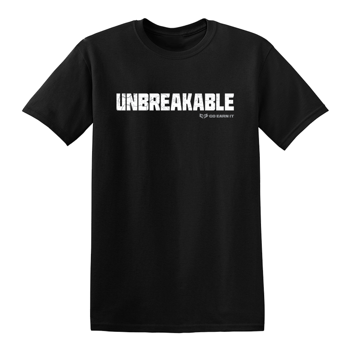 UNBREAKABLE GRAPHIC TEE - Black + FREE Sunglasses