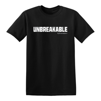 UNBREAKABLE GRAPHIC TEE - Black