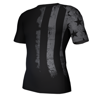 Ghost Flag Compression Shirt
