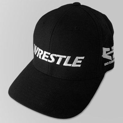 WRESTLE Fitted Hat - Black