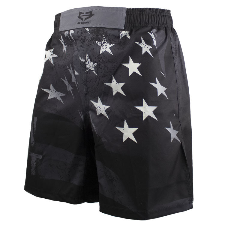 BLACK FLAG FIGHT SHORTS