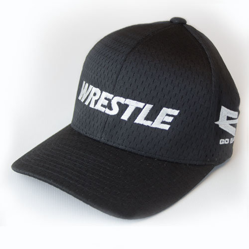 WRESTLE Hat Mesh - Black