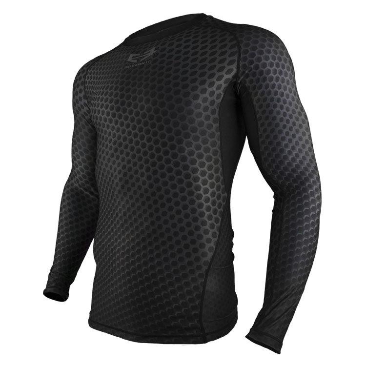 Black HEX Compression Shirt LS