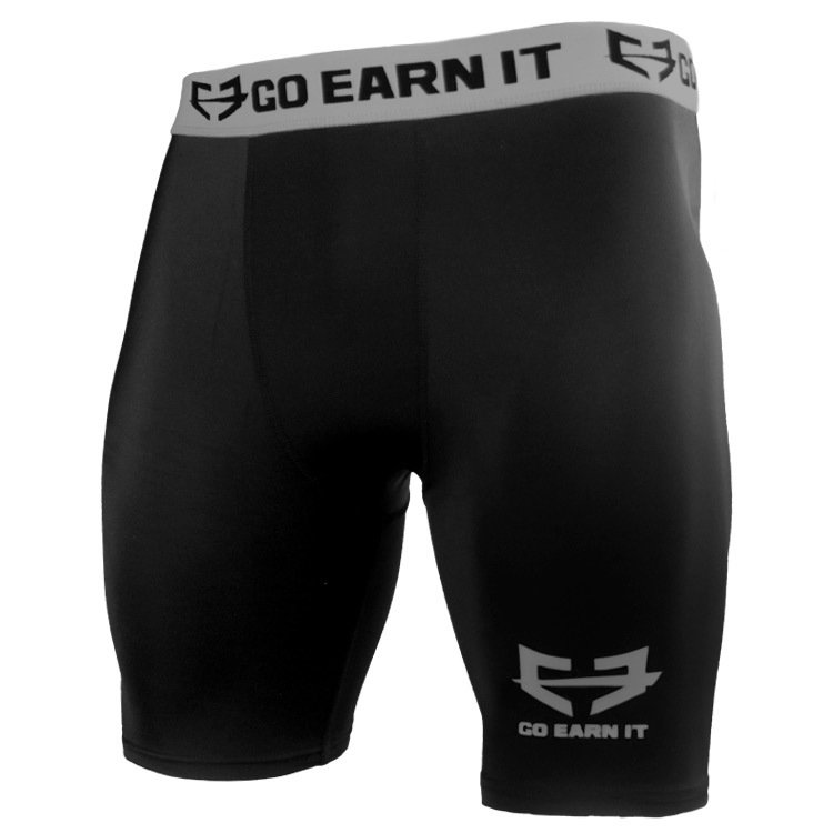 Go Earn It Compression Shorts