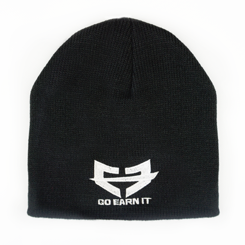 ESSENTIALS BEANIE - Black