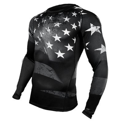 Black Flag Compression Shirt LS