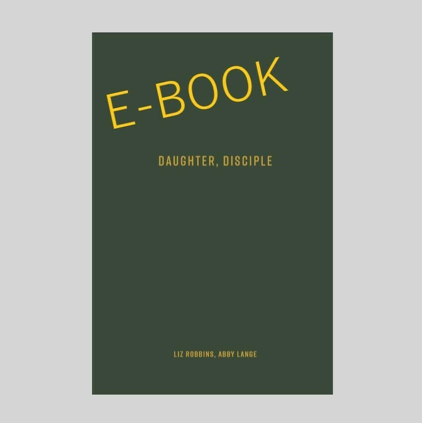 Daughter, Disciple E-Book (EPUB File)