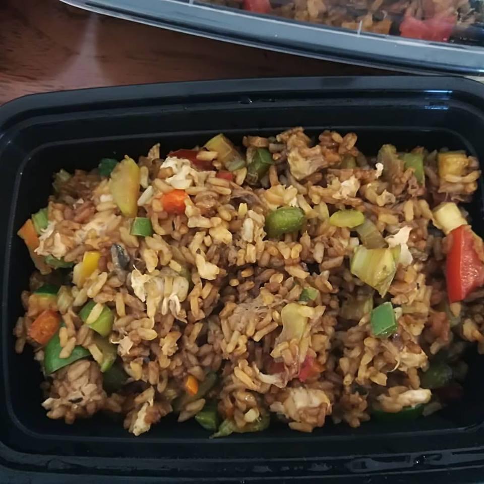 Riz chinois à la dinde