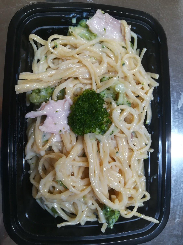 Linguini poulet brocoli
