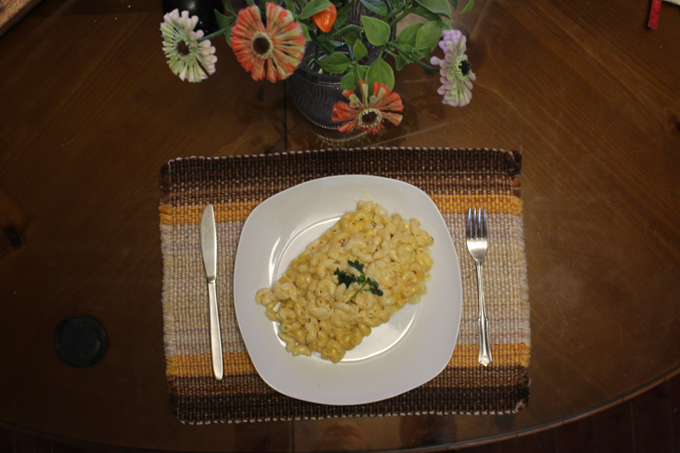 Macaroni aux 3 fromages