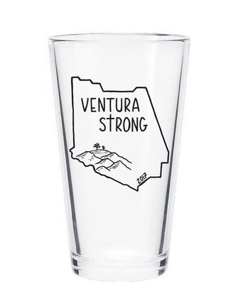 Ventura Strong 16 oz Glass
