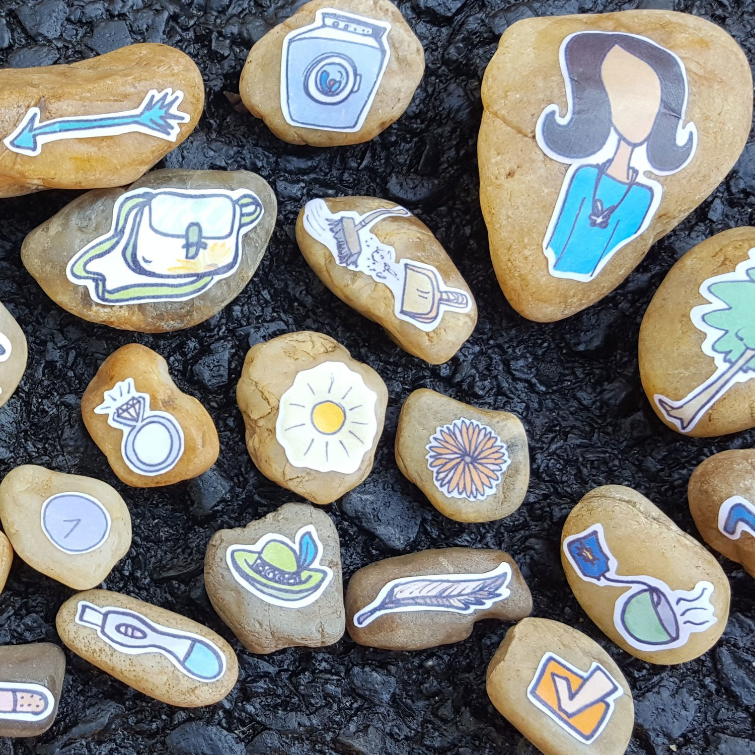 WOMEN ROCK! story stones Collection 2