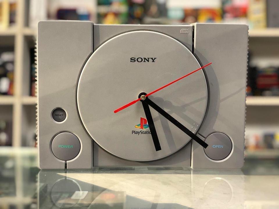 Playstation PS1 Clock