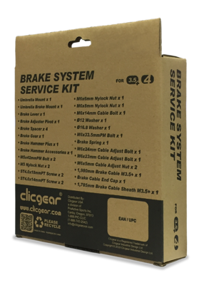 Clicgear Brake service set