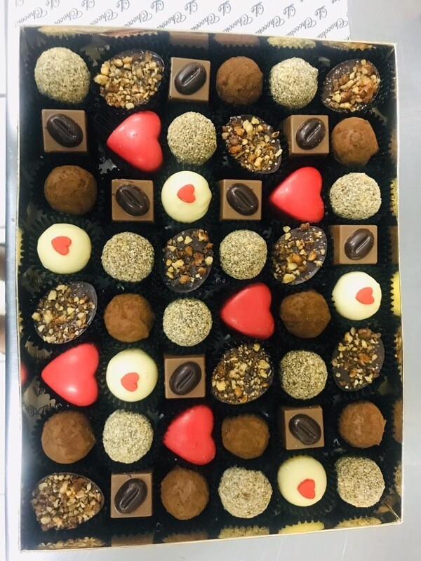 FAY'S 48 assorted pralines (Alcohol Free)