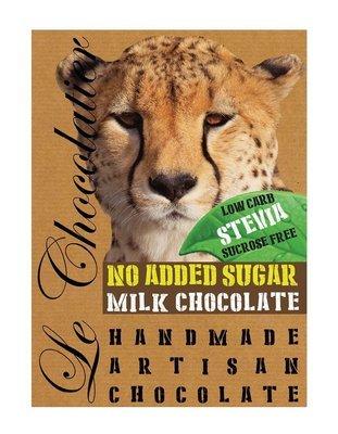 SLAB MILK CHOCOLATE – NO ADDED SUGAR 100g