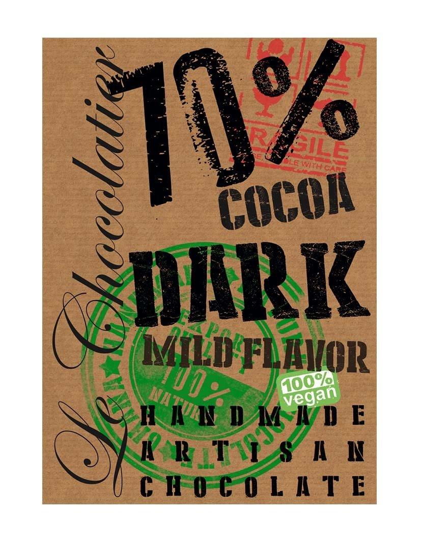 SLAB Dark Chocolate 70% 100g