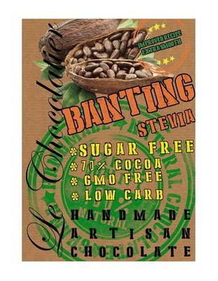 SLAB BANTING CHOCOLATE - SUGAR FREE 100g