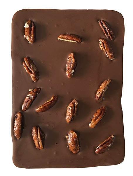 Artisan Dubai - Milk Chocolate with pecan nuts 120g