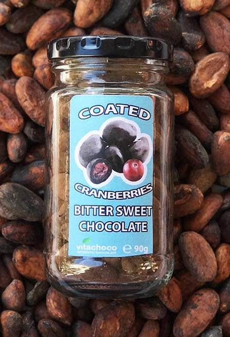 CHOCOLATE COATED  DRIED CRANBERRIES