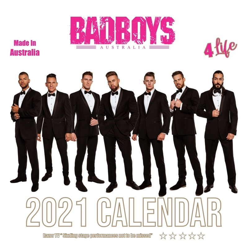 Badboys Australia 2021 Calendar