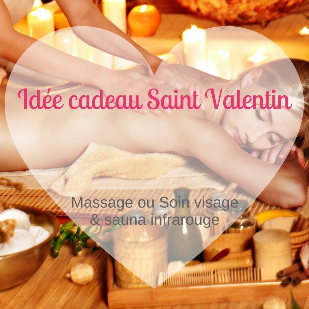 Bon CADEAU Massage  CORPS + SAUNA INFRAROUGES