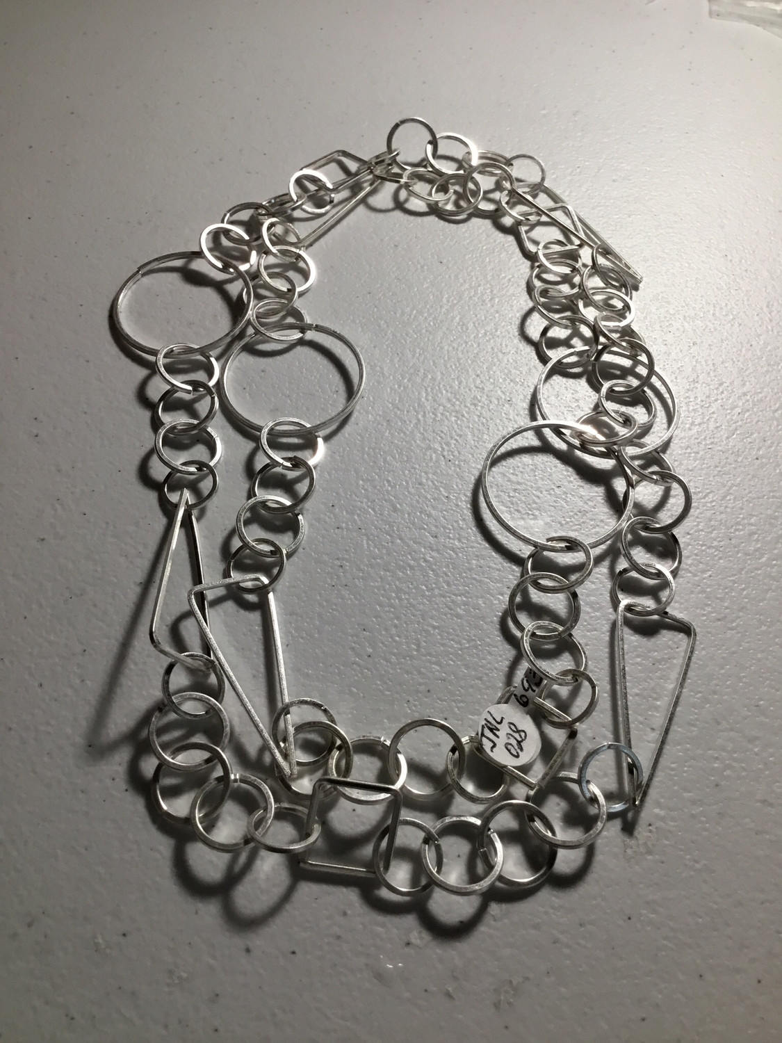 Silver Color Different Shapes and Loops