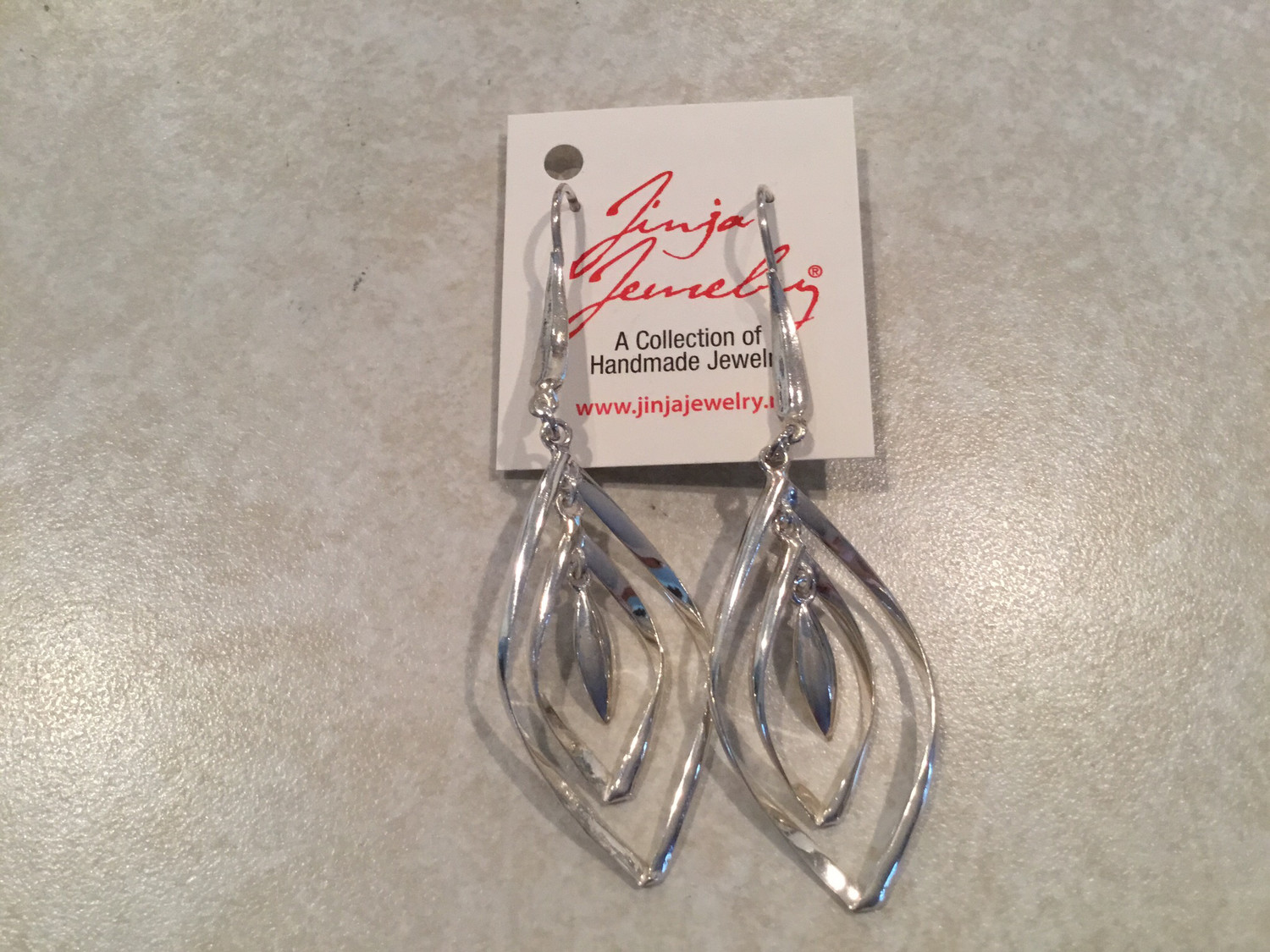 Sterling Silver Marquee Shape