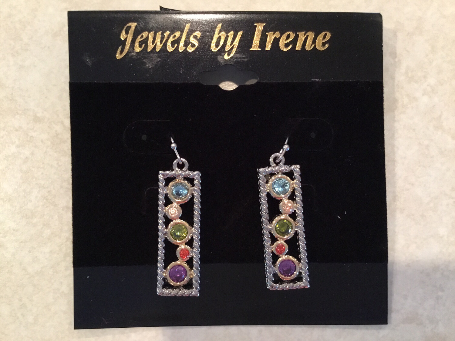 Gold With Beautiful Multi Color Gemstones
