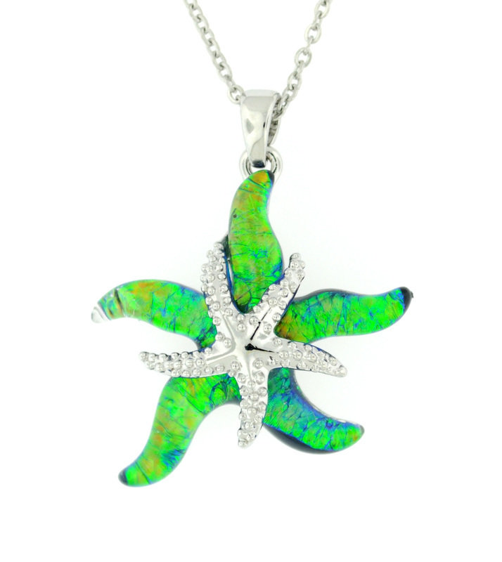 Wish on a Starfish Pendant