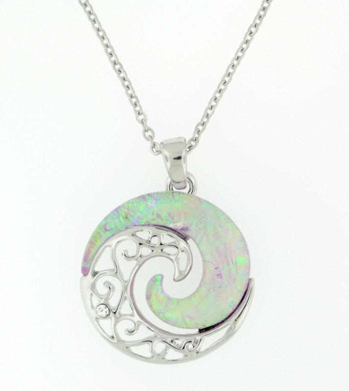 Yin Yang Wave Pendant