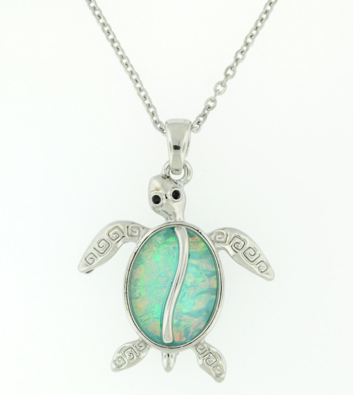 Under the Sea turtle Pendant