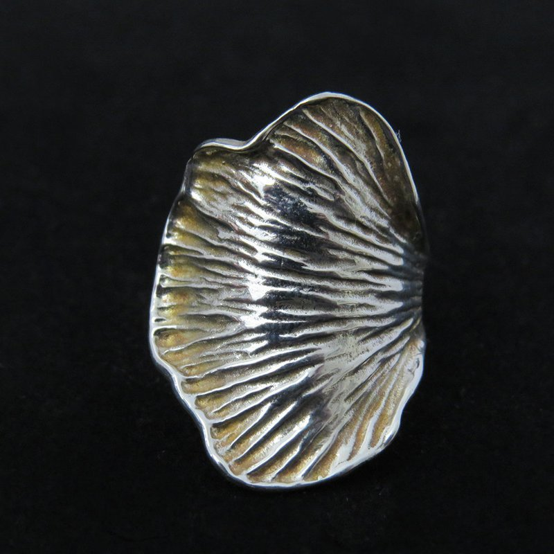 Sterling Silver Lily Pad Ring