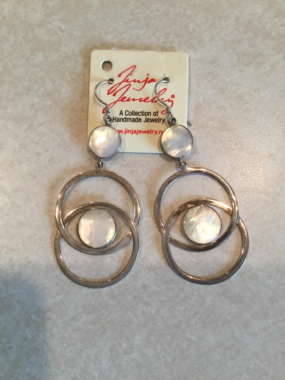 Sterling Silver Double Loop Earrings
