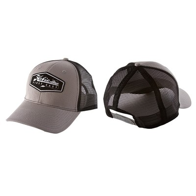 HAT, HOBIE FIRST CAST GRY/BLK
