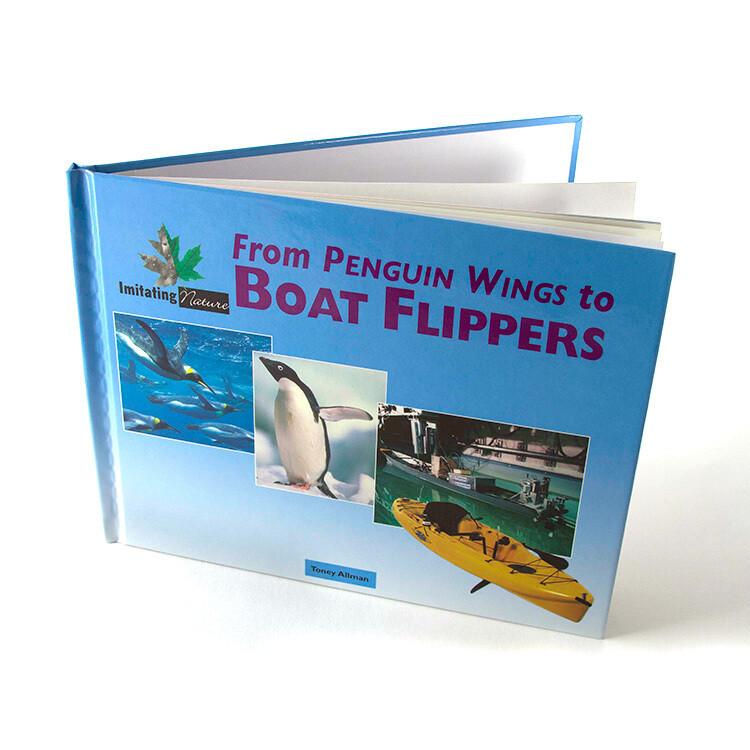 BOOK, PENGUIN BOAT FLIPPERS