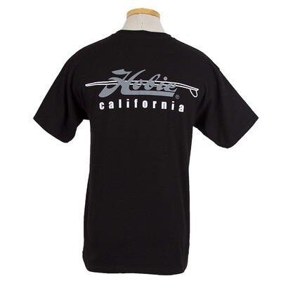 CALIF BLK MENS S/S T M