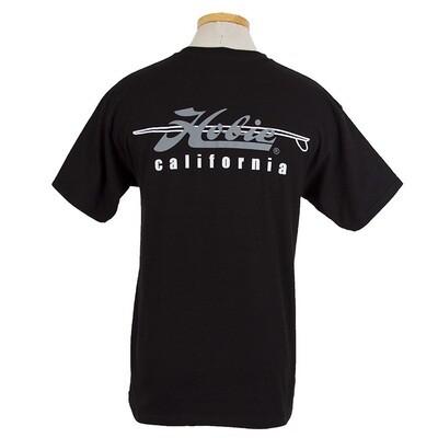 CALIF BLK MENS S/S T M