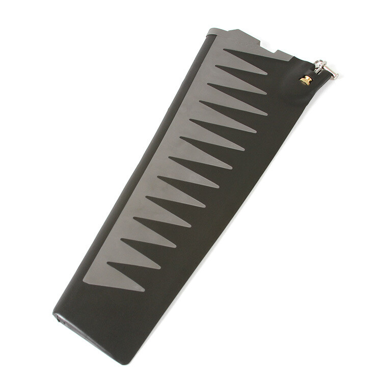 MIRAGE ST TURBO FIN - GRAY/BLK