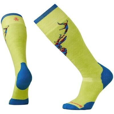Smartwool Men's PhD Slopestyle Medium Akaigawa Socks