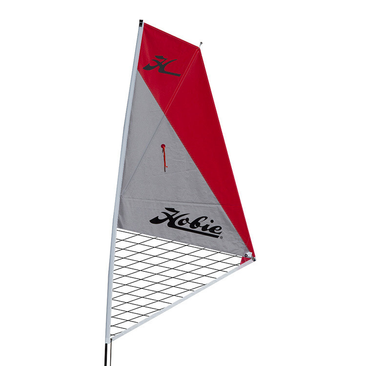 SAIL KIT KAYAK RED/SILVER