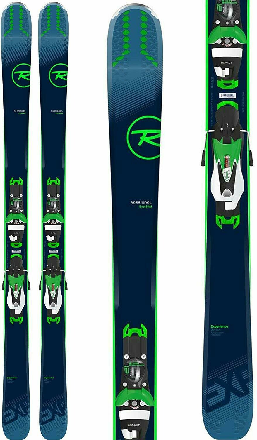 Rossignol Men's Experience 84 AI Konect Skis + SPX 12 Konect Bindings
