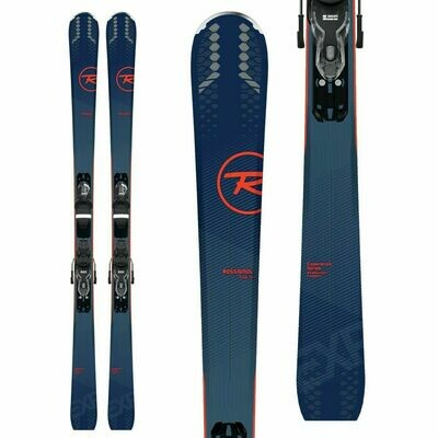 ROSSIGNOL Men's Experience 74 Skis + Xpress 10 B83 Bindings