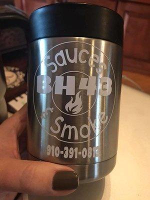 BH43 Sauces & Smoke Vinyl Sticker
